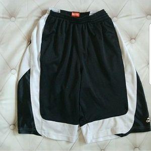 4/$25 Adidas Small Black Basketball Shorts